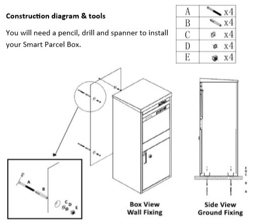 Large Smart Parcel Box